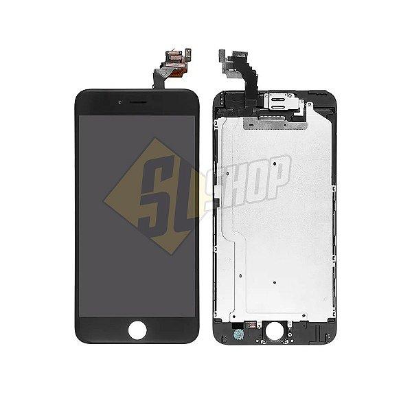 Pç Apple Combo iPhone 6 Plus Preto Chan Glass