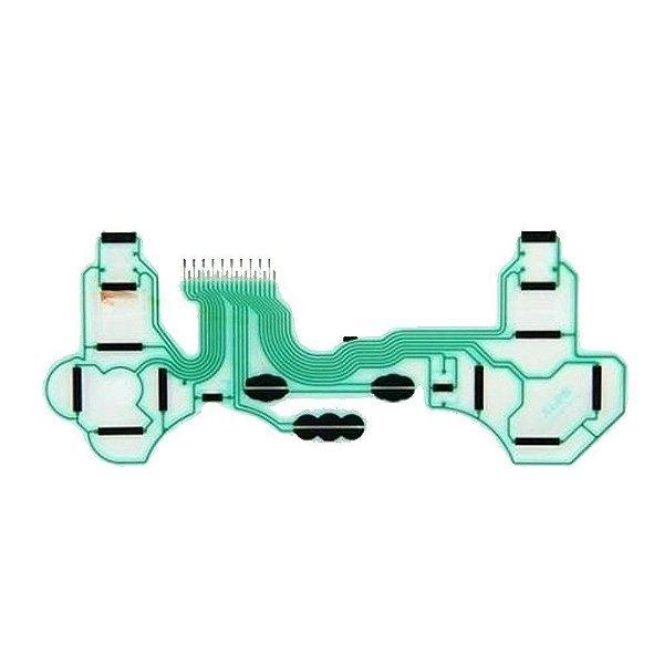 Pç PS3 Controle Pelicula Condutiva Dupla
