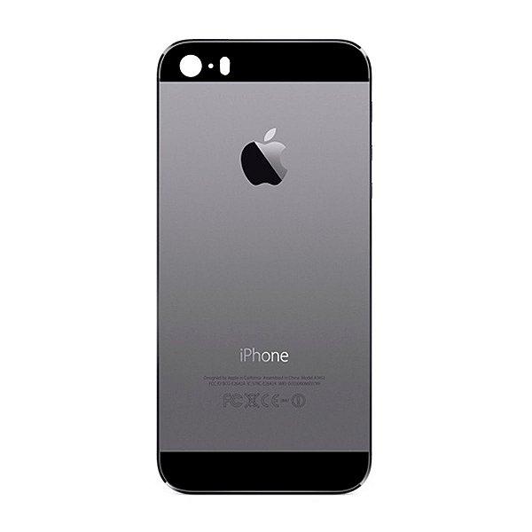 Pç Apple Tampa Traseira iPhone 5s Cinza Espacial com Estrutura