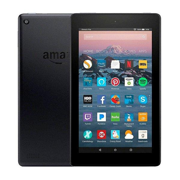 Tablet Amazon Fire 7 16GB 1GB Alexa Preto