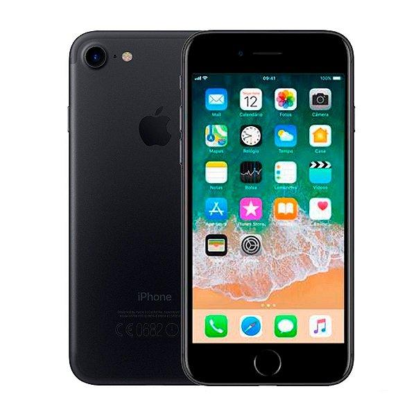 Smartphone Apple iPhone 7 128GB 2GB Preto Seminovo