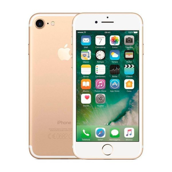 Smartphone Apple iPhone 7 32GB 2GB Dourado Seminovo