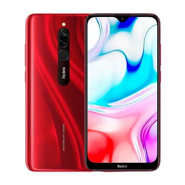 Smartphone Xiaomi Redmi 8 64GB 4GB Vermelho (Seminovo)