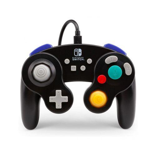 Controle GameCube Com Fio Preto - Switch
