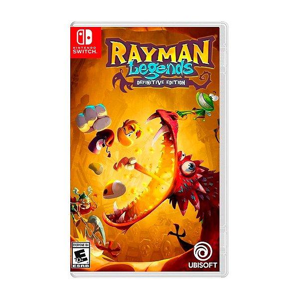 Jogo Rayman Legends Definitive Edition - Switch Seminovo
