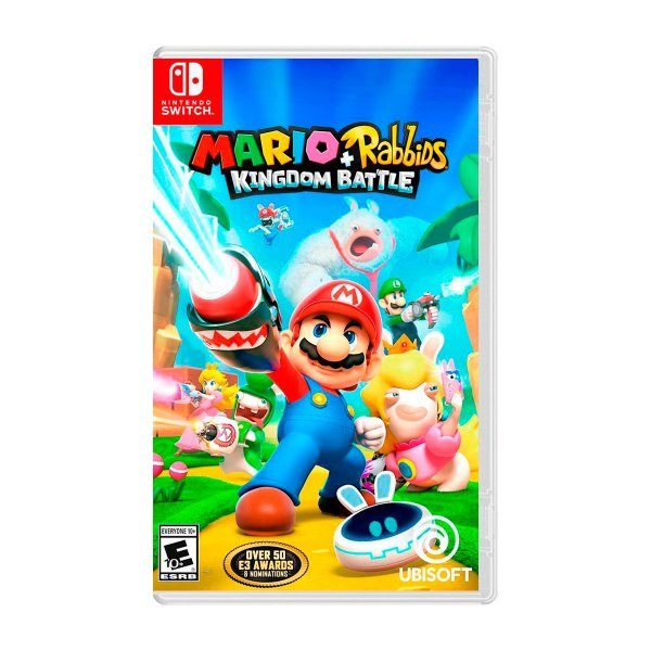 Jogo Mario + Rabbids Kingdom Battle - Switch