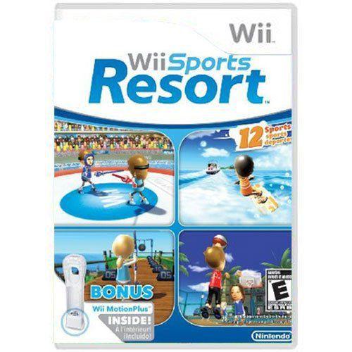 Jogo Wii Sports Resort - Wii (Seminovo)