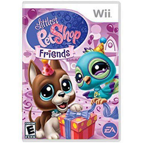 Jogo Littlest Pet Shop Friends - Wii Seminovo