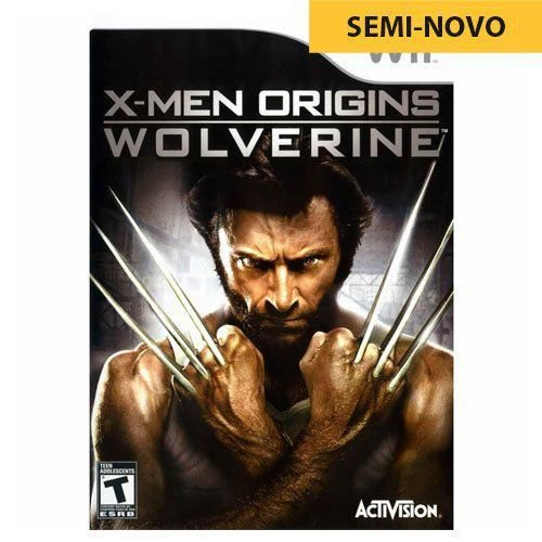 Jogo X-Men Origins Wolverine - Wii (Seminovo)