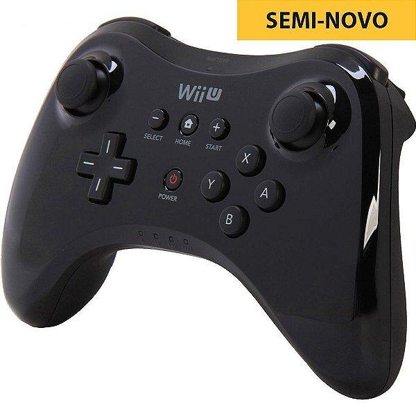 Controle Pro Oficial - Wii U (Seminovo)