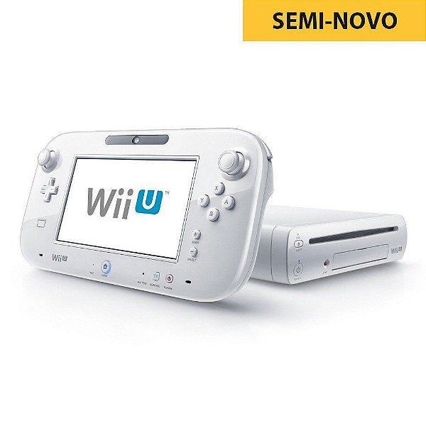 Console Nintendo Wii U 8GB Branco + 1 Controle Seminovo