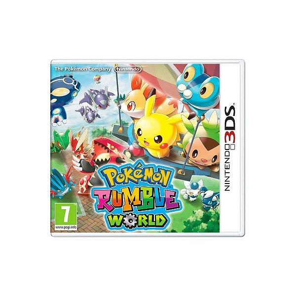 Jogo Pokémon Rumble World - 3DS Seminovo