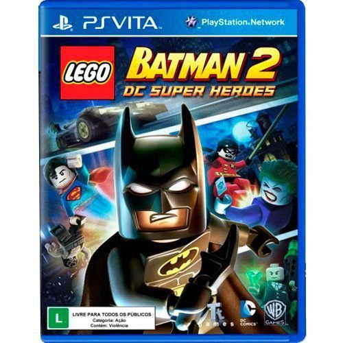 Jogo LEGO Batman 2 DC Super Heroes - PS Vita (Seminovo)