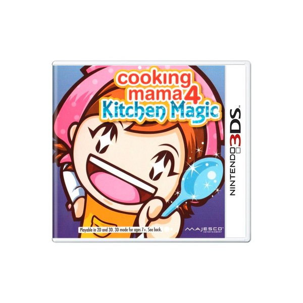 Jogo Cooking Mama 4 Kitchen Magic - 3DS