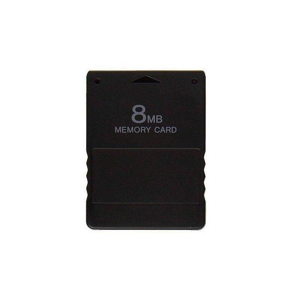 Memory Card 8MB - PS2 (Seminovo)