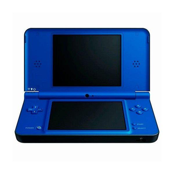 Console Nintendo DSi XL Azul + 170 Jogos Digitais Seminovo