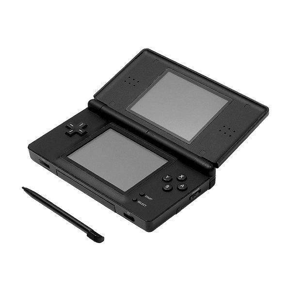 Console Nintendo DSi Preto + 170 Jogos Digitais Seminovo
