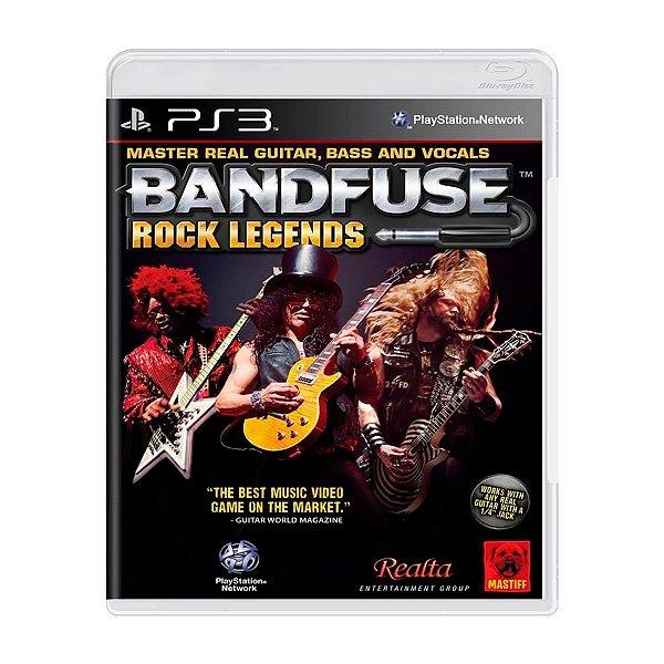 Jogo Bandfuse rock legends - PS3 (Seminovo)