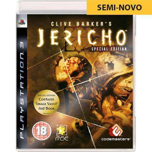 Jogo Clive Barker`s Jericho - PS3 Seminovo