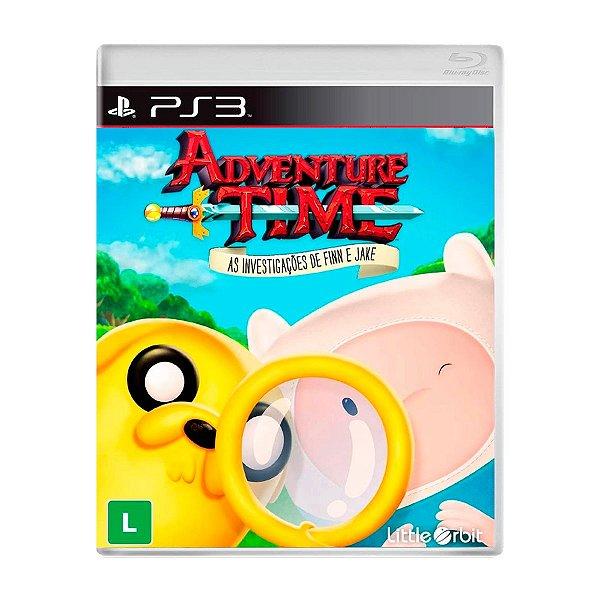 Jogo Adventure Time As Investigações de Finn e Jake - PS3 (Seminovo)