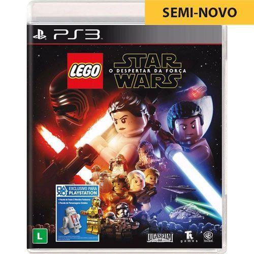Jogo LEGO Star Wars O Despertar da Força - PS3 Seminovo