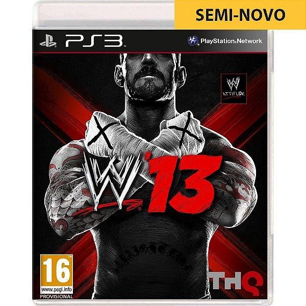 Jogo WWE 2013 - PS3 Seminovo