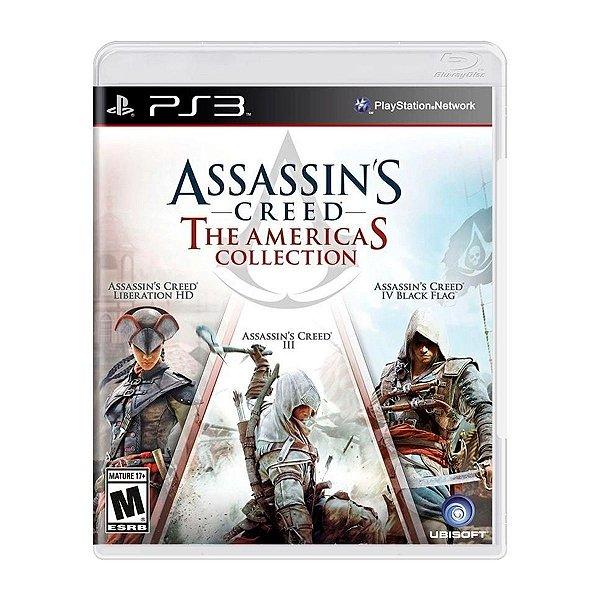 Jogo AssassinS Creed The Americas Collection - PS3 Seminovo