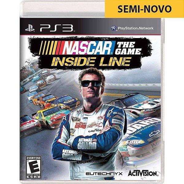 Jogo Nascar The Game Inside Line - PS3 Seminovo