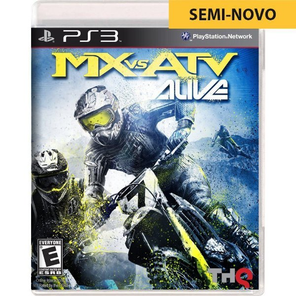 Jogo MX vs ATV Alive - PS3 (Seminovo)