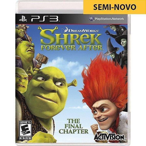 Jogo Shrek Forever After - PS3 (Seminovo)