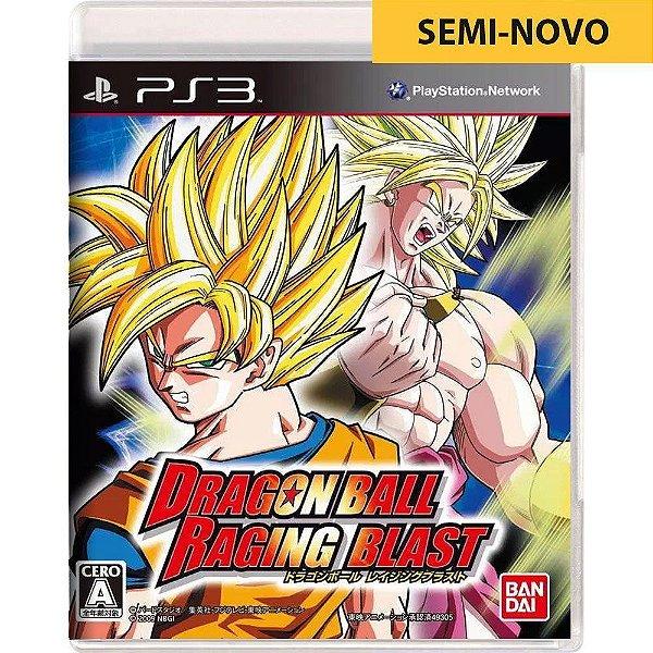 Jogo Dragon Ball Raging Blast - PS3 Seminovo