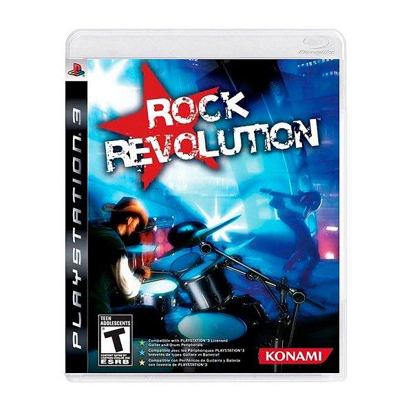 Jogo Rock Revolutions - PS3 Seminovo