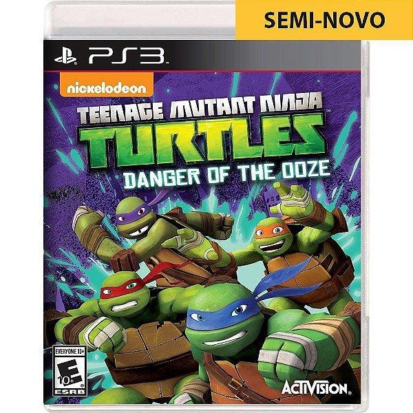 Jogo Teenage Mutant Ninja Turtles - PS3 (Seminovo)