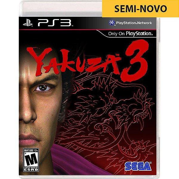 Jogo Yakuza 3 - PS3 (Seminovo)