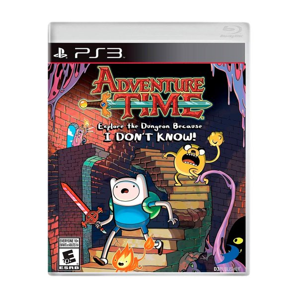 Jogo Adventure Time Explore the Dungeon Because I Dont Know - PS3 Seminovo