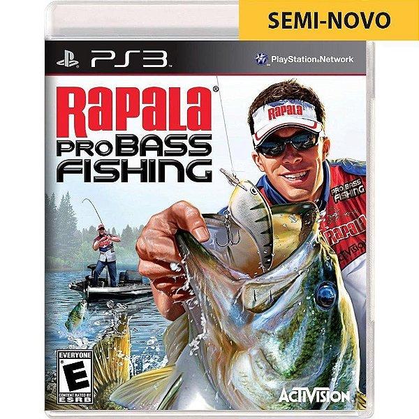 Jogo Rapala Pro Bass Fishing + Vara de Pesca - PS3 Seminovo