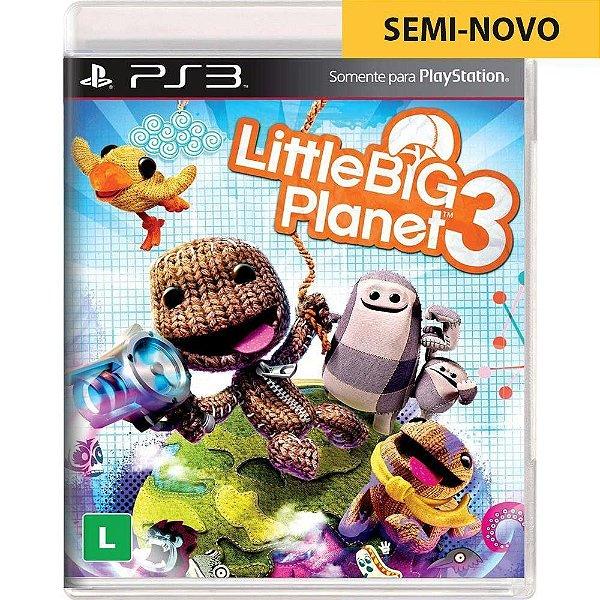Jogo Little Big Planet 3 - PS3 (Seminovo)