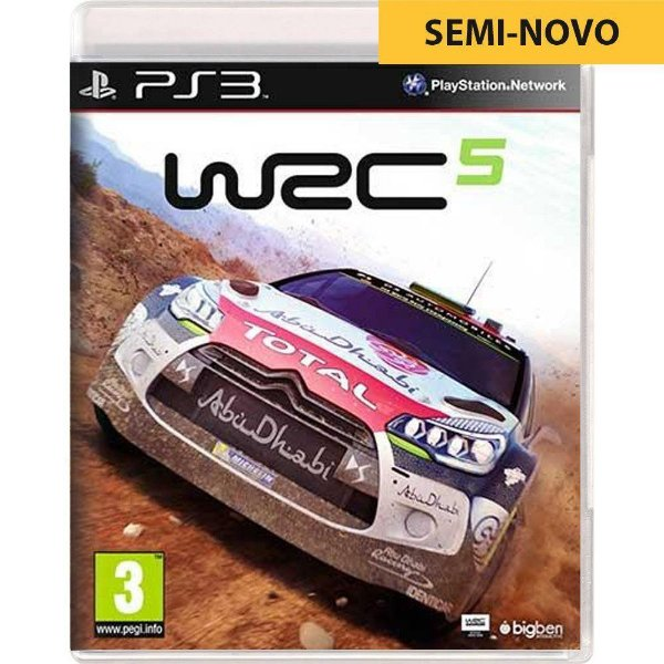 Jogo WRC 5 - PS3 (Seminovo)