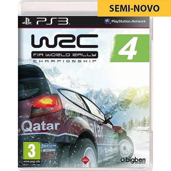 Jogo WRC 4 - PS3 Seminovo