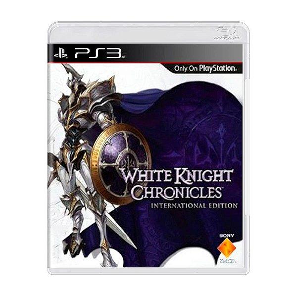 Jogo White Knight Chronicles - PS3 Seminovo