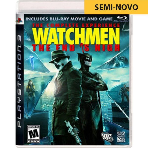 Jogo Watchmen The End is Nigh Complete Experience - PS3 (Seminovo)
