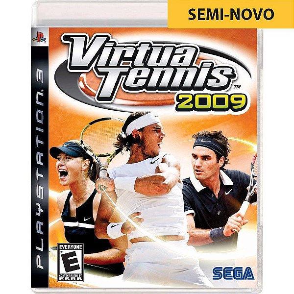 Jogo Virtua Tennis 2009 - PS3 Seminovo