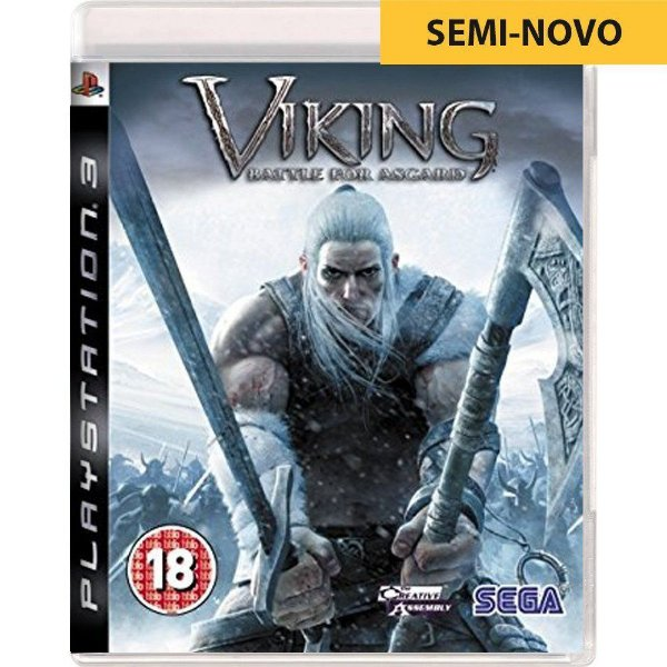 Jogo Viking Battle for Asgard - PS3 (Seminovo)