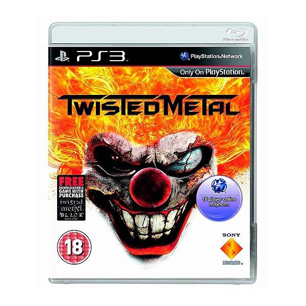 Jogo Twisted Metal - PS3 Seminovo