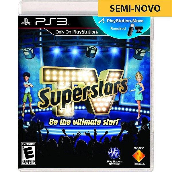 Jogo TV Superstars Be The Ultimate Star! - PS3 Seminovo