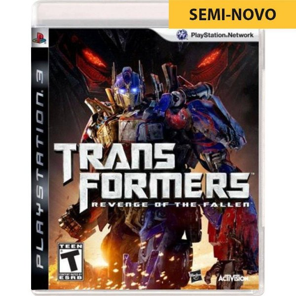Jogo Transformers Revenge of the Fallen - PS3 Seminovo
