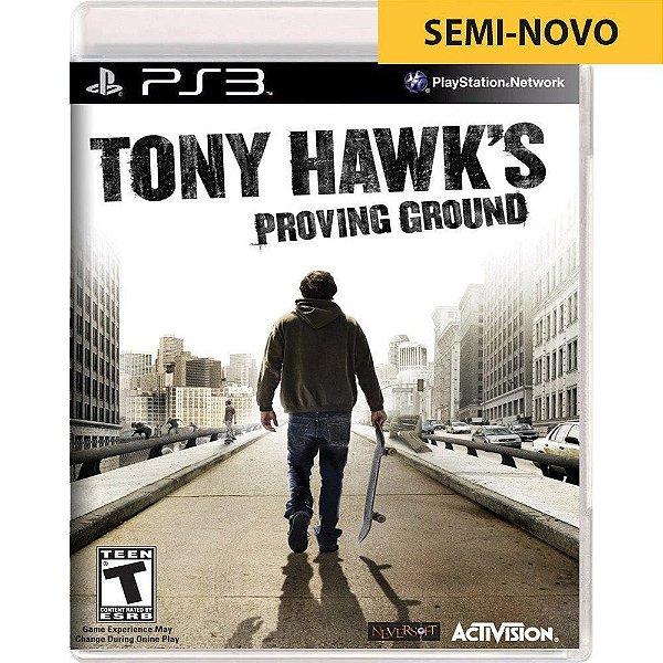 Jogo Tony Hawk Proving Ground - PS3 (Seminovo)
