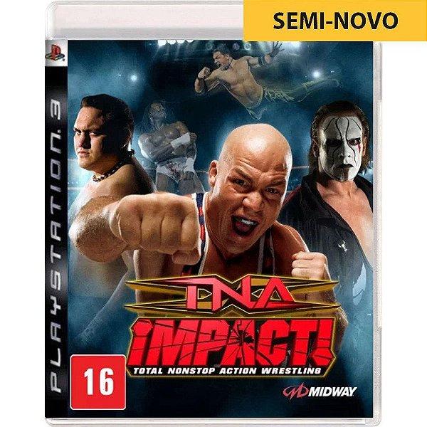 Jogo TNA Impact - PS3 Seminovo