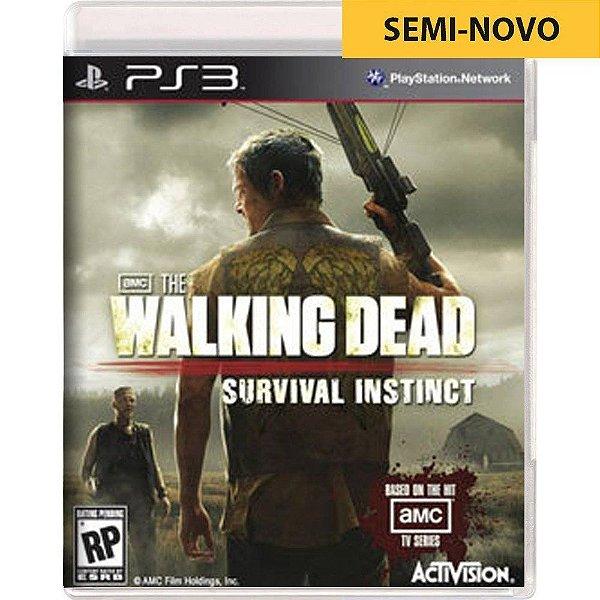 Jogo The Walking Dead Survival Instinct - PS3 Seminovo