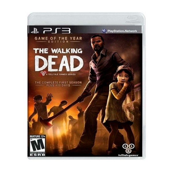 Jogo The Walking Dead Game of The Year - PS3 Seminovo